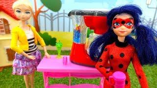 Леди Баг, Супер-Кот и Антибаг. Куклы против акумы