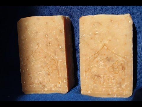 Shea Butter & Goat Milk Soap Making & Cutting