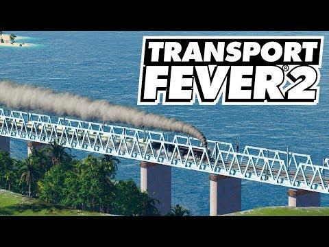 HUGE New Train Line To Make Loads Of Money! Transport Fever 2 (Part 8)