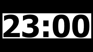 23 Minute Countdown Timer with Alarm