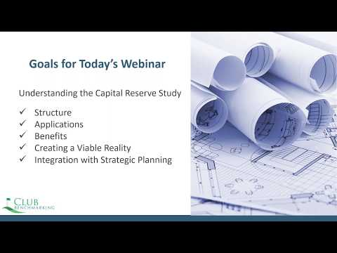Capital Reserve Studies: Structure, Benefits, Reality and Beyond