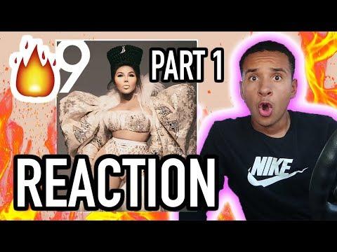 Lil' Kim 9 FULL ALBUM REACTION PART 1!! THIS IS SUM ICONIC STUFF