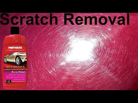 Car Paint Restoration Step #1 Mothers Pure Polish