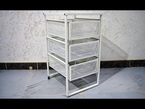 IKEA Lennart Drawer Unit White Assembly  YouTube