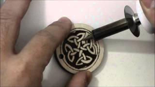 Pyrography (woodburning) Project 04