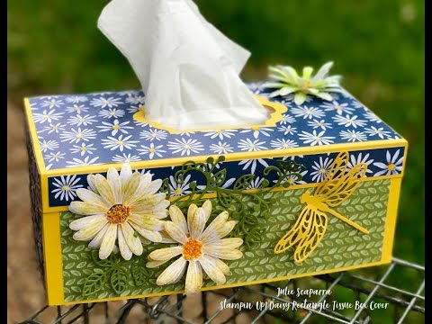 Stampin' Up! Rectangle Tissue Box Cover
