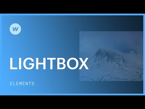 Lightbox for images and videos - Web design tutorial - YouTube