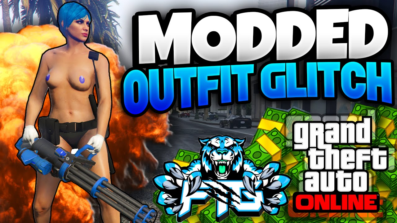 GTA 5 Online How to Create Modded Outfits Using Clothing Glitches GTA V Online Glitch tutorial ...