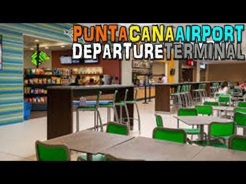 Punta Cana International Airport - Departure Terminal - Dominican Republic (4K)