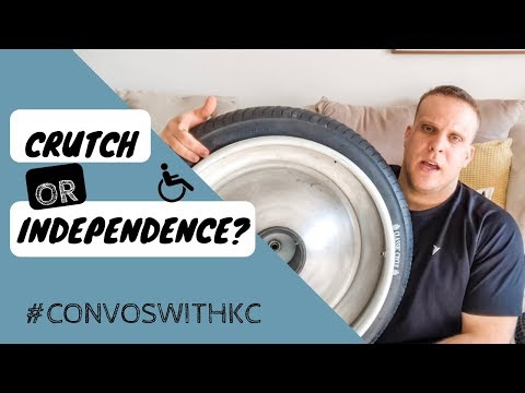 Adaptive Equipment Vs. Independence Crutch
