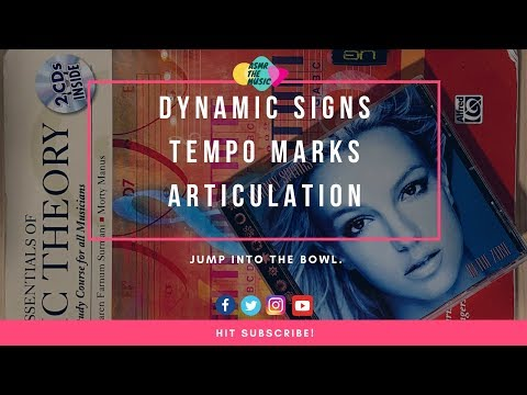 🎼 ASMR Music Theory 101: Dynamic Signs, Tempo Marks, Articulation 🎵