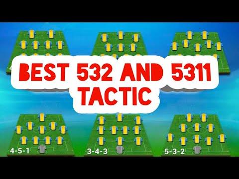Best 532 and 5311 tactic | osm tactic