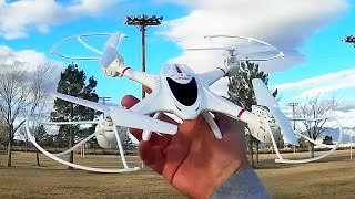MJX RC X400 Drone Test Flight
