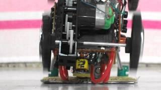 robot walking and jumping