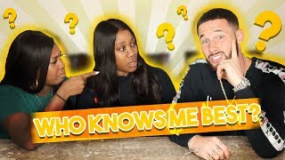 WHO KNOWS ME BETTER CHALLENGE **HUSBAND VS SISTER**