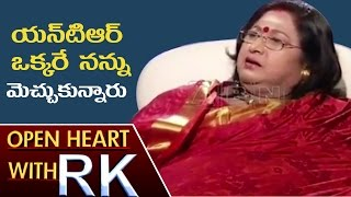 Senior Actress Vanisri About Interaction With Seniors And Industry Values | Open Heart With RK | ABN