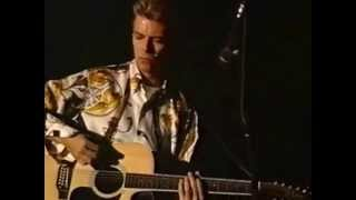 DAVID BOWIE - I CAN'T READ - LIVE 1992 - HQ