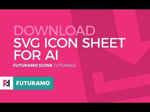 FUTURAMO ICONS Tutorials – Download SVG Icon Sheet For Adobe® Illustrator®