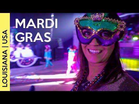 MARDI GRAS! Louisiana Carnival!