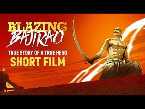 Graphic Short Film - Blazing Bajirao | True Story Of A True Hero
