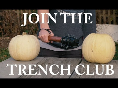 How to Make: WW1 SPIKED TRENCH CLUB (Easy+DANGEROUS)