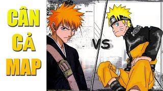 Dùng Cáo Chín Đuôi Naruto Chiến Thắng Hết Map Ninja Trong Bleach vs Naruto 3.3