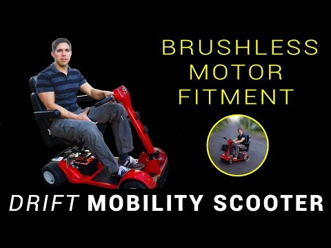 Brushless motor mounting - Drift Mobility Scooter + Drift Trike - Part 4