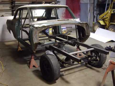 Gasser Build Part 2, Chevy II Nova