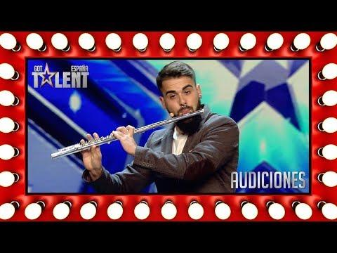 ¡Este flautista sorprende haciendo beatbox! | Audiciones 8 | Got Talent España 2018