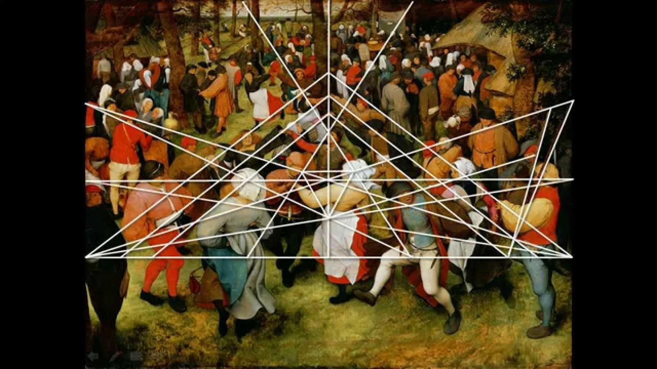 Wedding Dance By Pieter Bruegel The Elder A Geometric Analysis