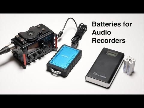 Powering Audio Recorders With USB Batteries: Coocheer And LifeCHARGE