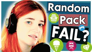 Trying The Random Pack Challenge But Technology Hates Me|| The Sims 4 Build Challenge