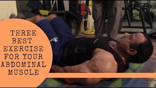 Three Best Exercise For Your Abdominal Muscle