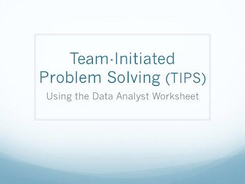 Data Analyst Worksheet Video