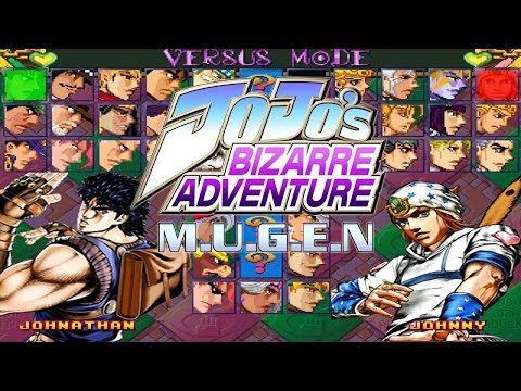 Jojo´s Bizarre Adventure M.U.G.E.N 1.1 Edition (Beta) - DOWNLOAD 2018