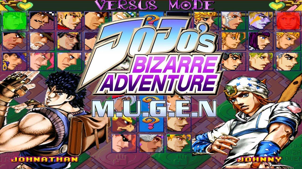 Jojo Bizarre Adventure - Mugen Download | GO GO Free Games