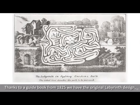 Sydney Gardens - Recreating the Labyrinth