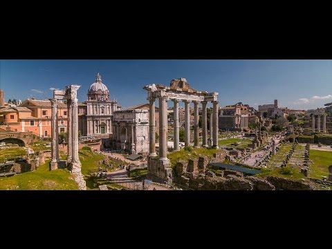 ROME: THE ETERNAL CITY. 4K MOTION TIMELAPSE.