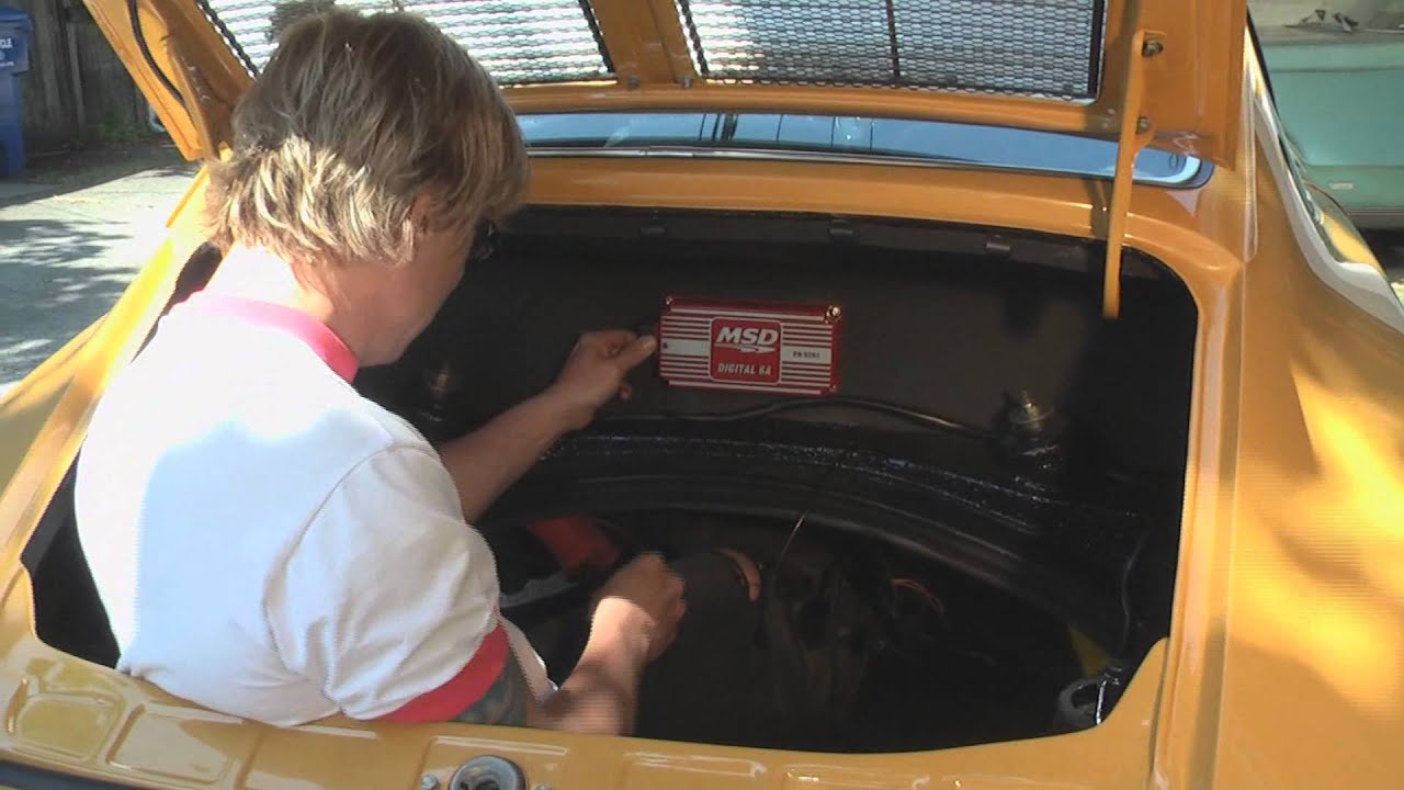 Porsche 912 Msd Ignition Install Diy German Aircooled