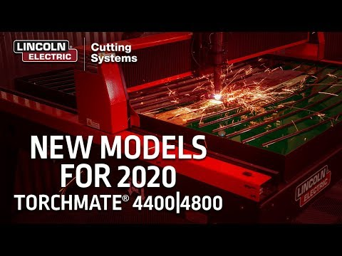 Torchmate 4400 & 4800 New Models are Here! | CNC Plasma Cutting Tables