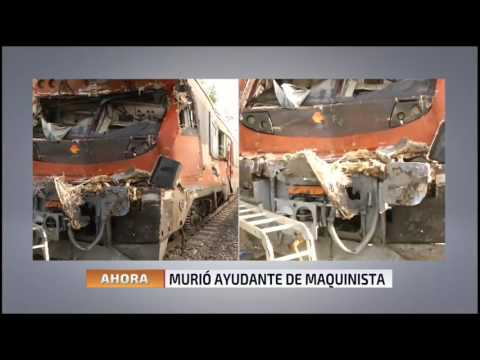 Grave accidente por choque de tren con camión en Requínoa