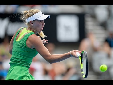 2017 Apia International Sydney First Round | Caroline Wozniacki vs Monica Puig | WTA  Highlights