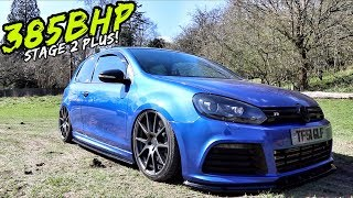 THIS *385BHP BAGGED* MK6 VW GOLF R IS SICK!!