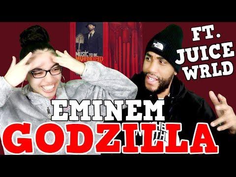 MY DAD REACTS TO Godzilla Eminem FT. Juice WRLD REACTION