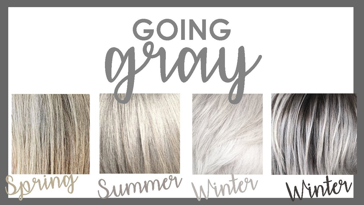 Going Gray!  How To Look Younger  & Its Trendy
