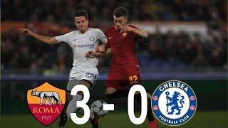 [Highlight] AS Roma VS Chelsea    Champions League    1 November 2017