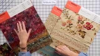 How To Mix And Match Batiks And Cotton Prints In Quilting By Edyta Sitar -- Fat Quarter Shop