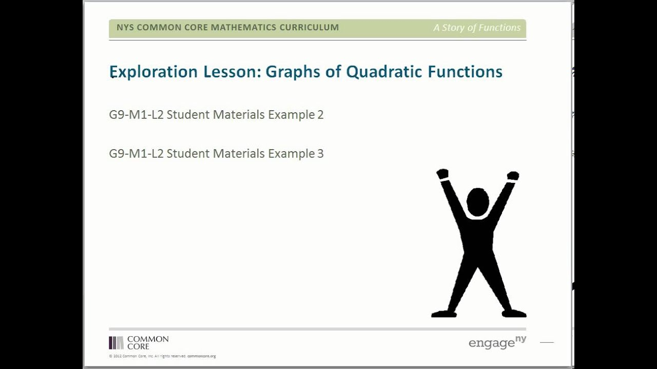 Grade 9 math module 1 overview YouTube – Common Core Mathematics Curriculum Worksheets