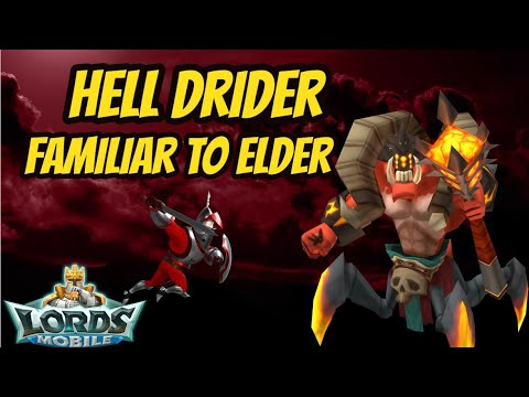 Lords Mobile - Hell Drider/Free T4 Troops