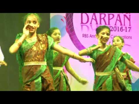 Ravindra bharathi 2016 17 annual day pingaga pori dance by 6th and 7th class students